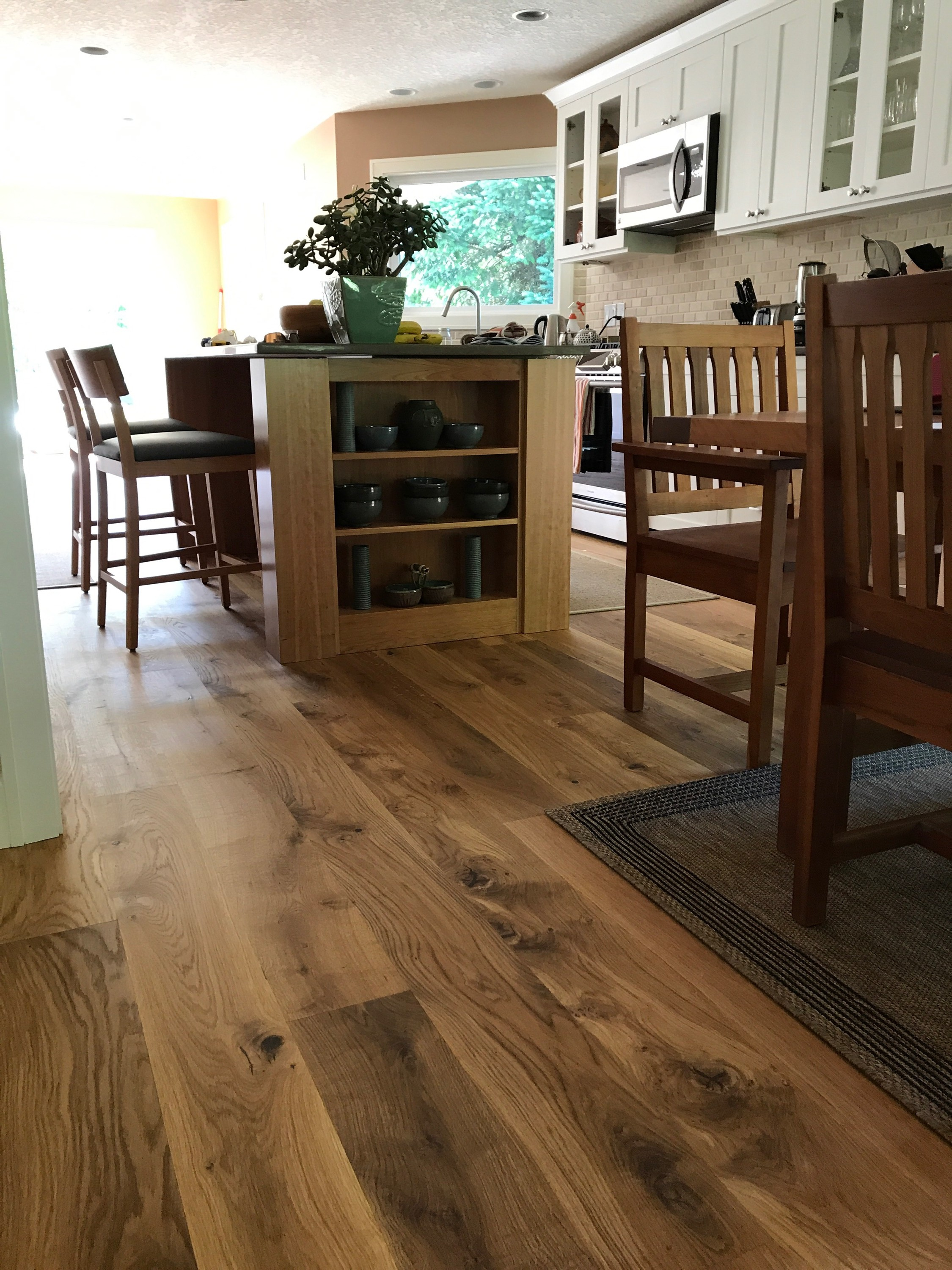 oak spaulted salvaged white floor oregon flooring
