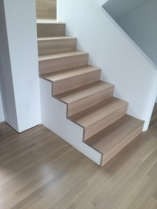 White Oak stairs 2